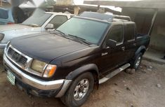 Neatly Used Nissan Frontier 1999 Black for sale