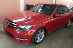 New Mercedes-Benz C250 2013 Red for sale