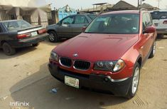 Clean BMW X3 2007 Red for sale