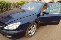 Peugeot 607 2005 Blue for sale