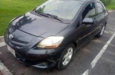Toyota Yaris Sedan Automatic 2007 Gray for sale
