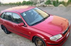 Mazda 323 2002 Red for sale