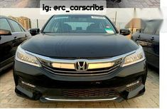 Used Honda Accord 2017 Black for sale