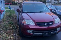 Acura MDX Touring Package 2004 Red for sale