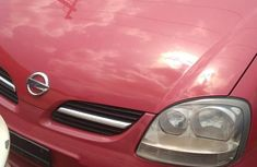 Nissan Almera 2004 Red for sale