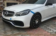 Mercedes-Benz E63 2015 White