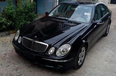 Mercedes-Benz E280 2006 Black for sale