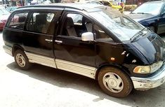 Toyota Previa 1991 black for sale