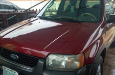 Ford Escape 2005 Limited 4x4 Red for sale