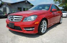 Mercedes-Benz C250 2013 Red for sale