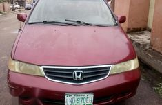 Honda Odyssey 2002 Red for sale