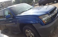 Chevrolet Avalanche 2003 Blue for sale