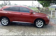 Lexus RX 2012 350 AWD Red for sale