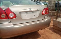 Toyota Corolla 2005 LE Gold for sale