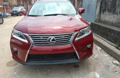Lexus RX 2012 350 FWD Red for sale