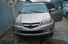 New Acura MDX 2005 Gold
