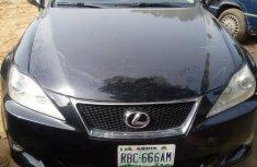 Lexus IS 2012 Black for sale