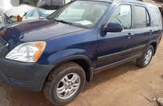 Honda CR-V 2003 Blue for sale