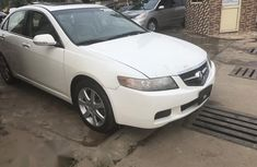 Acura TSX 2004 Automatic White for sale