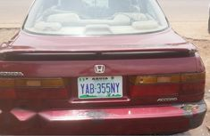 Honda Accord 1996 Red for sale