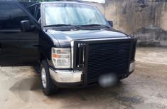 Ford E-350 2008 Black for sale