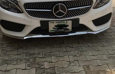 Mercedes-Benz C400 2017 White for sale
