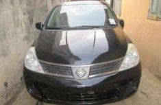 Nissan Versa 1.8 S Hatch 2008 Black for sale