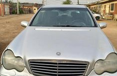 Mercedes-Benz C180 2003 Silver for sale