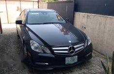 Mercedes-Benz E550 2012 Black for sale