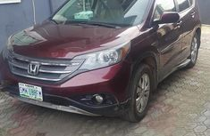 Honda CR-V 2012 Red