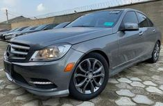 Mercedes Benz C250 2013 Gray for sale