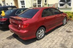 Toyota Corolla 2002 Red for sale