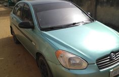 Hyundai Accent 2009 Green for sale