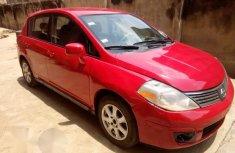 Nissan Versa 1.8 S Hatchback 2007 Red for sale