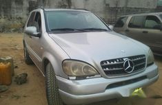 Clean Registered Mercedes Benz Ml 430 2002 Silver For Sale for sale