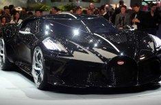 Bugatti most expensive car released, worth N4.5 billion