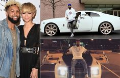 The exotic car collection of Odell Beckham - close friend of Ronaldo!