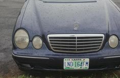 Mercedes-Benz E430 2000 Blue for sale