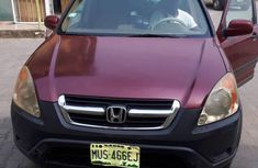 Honda CR-V EX 4WD Automatic 2002 for sale