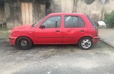 Nissan Micra 1999 Red for sale