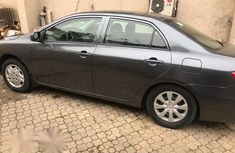 Toyota Corolla 2012 Gray for sale