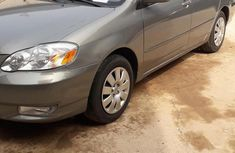 Direct Tokunbo Toyota Corolla 2004 Gray for sale