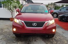Lexus Rx350 2011 Red for sale