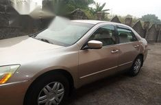 Honda Accord 2.4 2003 Gold for sale