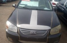 Kia Spectra 2008 Black for sale