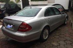 Mercedes-Benz E240 2004 Silver for sale