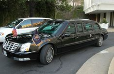 Comparison between the US President's new and old beast Limousines