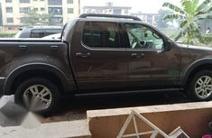 Fresh Ford Explorer 4*4 Pick-up 2008 Purple For Sale