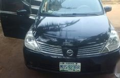 Clean Nissan Tiida 2008 Black for sale