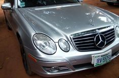 Mercedes-Benz E500 2008 Silver for sale